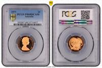 1977 AUSTRALIA 2 CENTS BU PCGS PR68RD DCAM BEAUTIFUL PROOF GRADED COIN