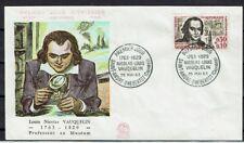 FRANCE FDC - 474 1373 2 NICOLAS VAUQUELIN 25 Mai 1963