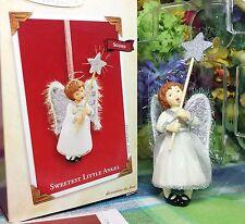 Hallmark Sweetest Little Angel 2003 Religious sound ornament
