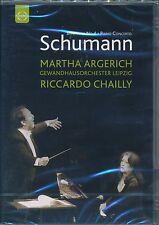 Martha Argerich Riccardo Chailly SCHUMANN Symphony 4 Piano Concerto DVD NEW