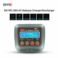 SKYRC S60 60W AC Balance Charger/Discharger for LiPo LiHV LiFe RC Batt QW