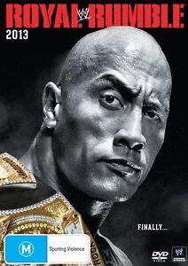 WWE - Royal Rumble 2013 - New & Sealed Region 4 DVD - FREE POST.
