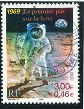 TIMBRE FRANCE OBLITERE N° 3355  / 1° PAS SUR LA LUNE photo non contractuelle