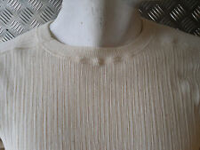 Genuine Swedish Army Cold Weather Ribbed Thermal Top - Size Medium - NEW