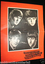 BEATLES Concert Programme Pop Music Rock & Roll Blackpool Opera House The Who UK