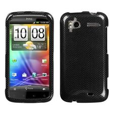 Carbon Fiber Hard Case Phone Cover for HTC Sensation 4G