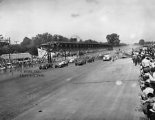 Indianapolis 500 starting grid Chrysler Newport pace car 1941 photo photograph
