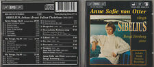 CD - ANNE SOFIE VON OTTER SINGS SIBELIUS BENGT FORSBERG AT PIANO