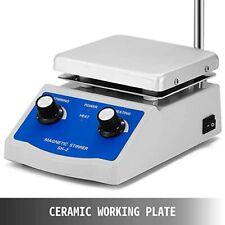 Happybuy Magnetic Stirrer Sh 2 Heating Plate 5 X 5 Inch Max 716f380 1000ml
