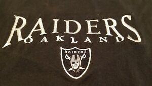 Oakland Raiders Nutmeg Mills Black and Silver Shirt