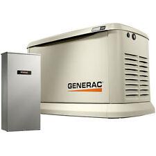 Generac Guardian 22kw Standby Generator System 200a Service Transfer Switch 7043