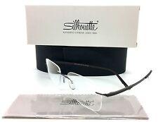 Silhouette Titanium Brown Contour / Eyeglasses 5414 40 140 6055 52 19 WM6306