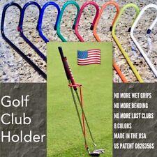 Golf Club Stand / Holder U.S. Patent# D826356S
