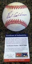 RICHIE ASHBURN, Philadelphia Phillies Hall of Famer, single signed baseball PSA