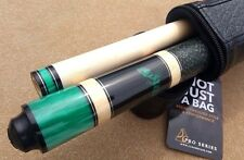 NEW McDermott Star Series SP7 Pool Cue, Green Pearl Lizard Inlay, Everest Tip!!