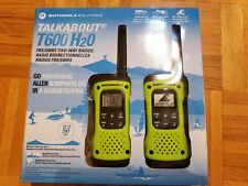 Motorola Talkabout T600 H2O  FRS/GMRS Two-Way radio waterproof walkie talkies