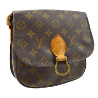 LOUIS VUITTON SAINT CLOUD MM SHOULDER BAG TH0940 PURSE MONOGRAM M51243 M15548