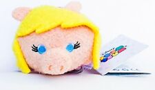 NEW! Disney Muppets Miss Piggy Pig Tsum Tsum Embroidered Stackable Plush Doll