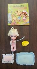 VINTAGE MATTEL LIDDLE KIDDLES DIDDLE BABY WITH ACCESSORIES 1965