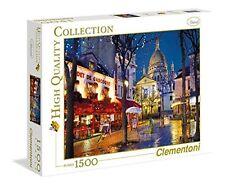 Clementoni 31999 - Puzzle Collezione Alta Qualità Paris Montmartre, 1500 (H3k)