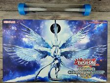 YuGiOhDeep-Eyes White Dragon Playmat Custom TCG OCG Mat Free High Quality tube