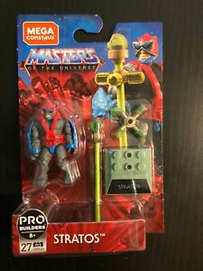 Masters of the Universe Mega Construx Heroes Stratos MOTU Pro Builders figure