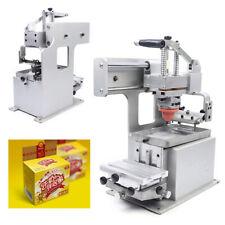 Pad Printer Logo Label Manual Pad Printing Machine With 35mm Silicone Pad 80x120mm