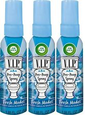 Air Wick V.I.P. Pre-Poop Spray - Fresh Model (3 PACK)