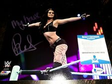Paige Signed 8x10 Photo Becket BAS COA Sexy Adult Star Auto WWE Inscription