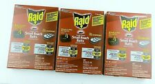 Raid Double Control Small Roach Baits Plus Egg Stoppers (3 Boxes) New Sealed