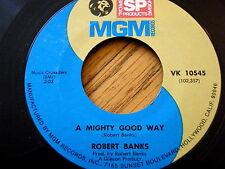 "ROBERT BANKS - A MIGHTY GOOD WAY / SMILE  7"" VINYL"
