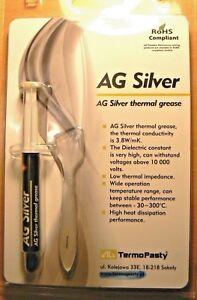 Heatsink Silver Thermal Compound Grease CPU Heatsink 3g Syringe ARCTIC like