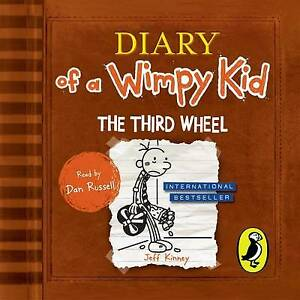 Diary of a Wimpy Kid The Third Wheel (7) by Jeff Kinney CD Audio new & sealed