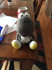"Sml Black Yoshi 6"" Stuffed Plush Authentic Good Condition"