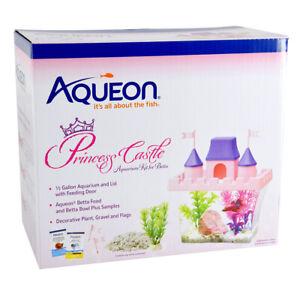 Aqueon Betta Princess Castle Aquarium Kit AAQ100530908