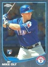 2013 Topps Chrome #55 Mike Olt RC Texas Rangers