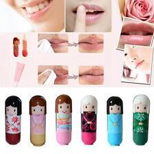 Women Lipstick Lip Gloss Makeup Cute Doll Style Lasting Moisture Lip Balm Cream