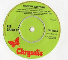 "Lee Garrett - You're My Everything 7"" Single 1976"