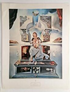 Salvador Dali Madonna Port Lligat Surrealism Religious LITHOGRAPH print 50s #Z11