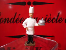 CBG mignot figurine CUISINIER CHEF CUISINE CLOCHE MOF  lead toy soldier figure