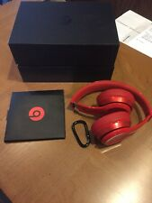 Beats Solo Wireless On-Ear Headphones - (Product) RED GREAT CONDITION FREE SHIP