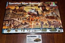 Diorama Vietnam War 1965 Battle Set Operation Silver Bayonet  1:72 Italeri 6184