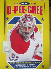 2016-17 OPC HOCKEY CARDS PICK ANY 10 CARDS FROM THE LIST *NEW CARDS ADDED 05/10