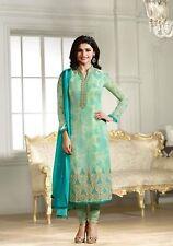 Ethnic Anarkali Salwar Kameez Designer Muslim Suit Indian Pakistani Dress 836
