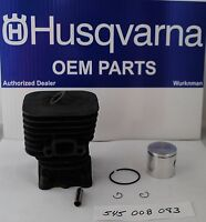 Husqvarna OEM 545008083  Line Trimmer Cylinder Assembly also 545008082 for 128LD