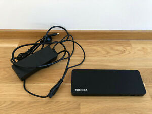 Toshiba Thunderbolt 3-Dockingstation schwarz