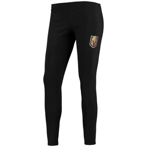 Fanatics NHL Las Vegas Golden Knights Leggings Black/Gold Women's Plus Size 3X