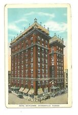 Unused Pre 1930s Hotel Mayflower Jacksonville Florida