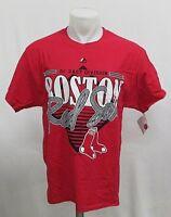 Boston Red Sox MLB Men's Short Sleeve Screen Printed T-Shirt Red L