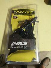 New listing Tru-Fire Smoke Release Buckle Strap Foldback Ambidextrous Black US Made